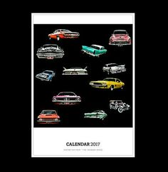 Mopar Mayhem  2017 Calendar by TheRandomImage on Etsy #cars #hotrods #mopar #chrysler #dodge #valiant #imperial #desoto #phoenix #plymouth #charger #challenger #cars #musclecars #classiccars #vintagecars #kustomkulture #carphotography #gifts #homedecor #interiordesign #home #interior #stationery #calendar #planner #wallart #2017