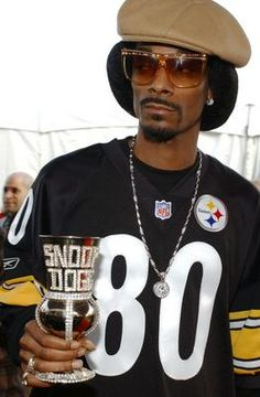 Go Steelers! Snoop's got you!