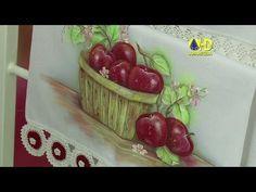 Vida com Arte | Pintura em Tecido Molhado por Luis Moreira - 21 de Agost...