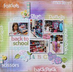Back to School Supplies - Scrapbook.com