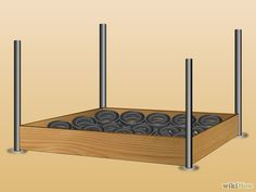 How to Make Your Own Wrestling Ring. If you're a big wrestling fan, you've probably dreamed of having your very own wrestling ring in your backyard. Buy four tall wooden posts. Wrestling Ring Bed, Wrestling Party, Diy Wwe, Wwe Birthday, Birthday Stuff, Wwe Bedroom, Make Your Own, Make It Yourself, How To Make