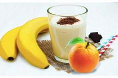 Koktejly – iRecept Breakfast Smoothies, Healthy Smoothies, Fat Burning Smoothies, Nutribullet, Detox Drinks, Panna Cotta, Good Food, Healthy Recipes, Healthy Food