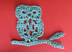 Misc. animal motifs crocheted and a GREAT blog!!