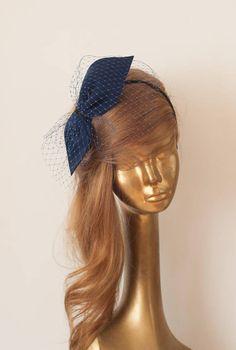 Bridal Fascinator, Wedding Fascinators, Fascinator Hats, Hair Fascinators, Headpieces, Blue Orchid Wedding, Wedding Flowers, Wedding Veil, Wedding Dress