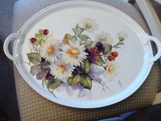Daisies again | ARTchat - Porcelain Art Plus (formerly Chatty Teachers & Artists)