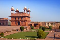 India. The thrown city of Fatehpur Sikri...