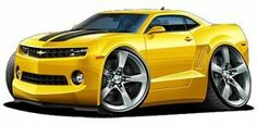 cartoon chevy camaro | photos not available for this variation