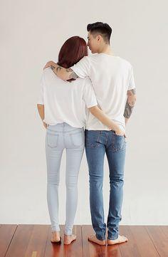 Cute ulzzang couple (=^▽^=)
