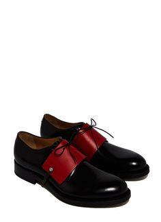 Karmuel Young 65mm 小牛皮鞋銬
