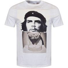 NEIL BARRETT Neil Barrett White Printed Logo T-Shirt - Men from Brother2Brother UK