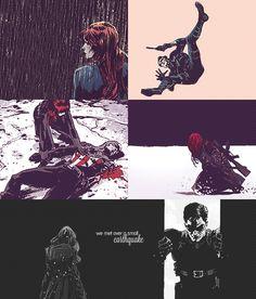 Winter Soldier/ Black Widow Romance