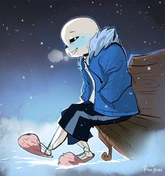I am so sorry you guys... I will get back to the usual environment paintings and illustrations in a second... for now, you guys are also subjected to my cheesy as heck undertale/sans hell feelings....