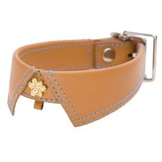 LOVE this. My little puppy can have a shirt collar to go with his old man face. :-) Saville Row Leather Dog Collar