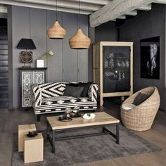 Ministry of Deco / interiores Salon Interior Design, Interior Decorating, Decorating Ideas, African Interior, Style At Home, Deco Design, Home And Deco, Home Staging, Home And Living