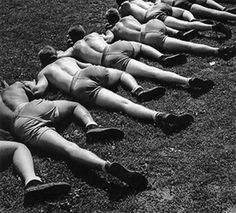 WWII Workout Week: Guerrilla Exercises