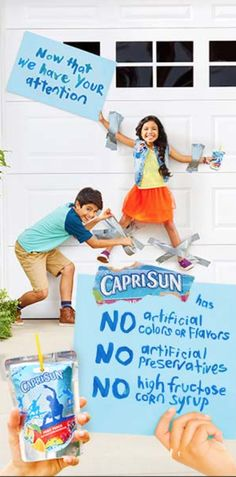 Capri Sun, Wall Design, Banner, Ads, Digital, Color, Creativity, Banner Stands, Banners