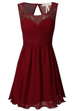 perfect christmas party dress - Click image to find more Women's Fashion Pinterest pins