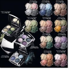 Avon true color eyeshadow quad. These colors are so great, and last all day! www.youravon.com/brookcoblentz