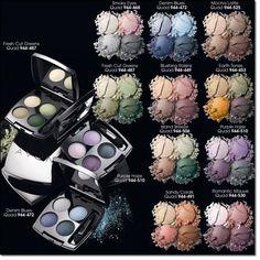 Avon true color eyeshadow quads