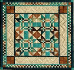 Two-Handed Stitcher: September 2009 - New Mexico quilt design