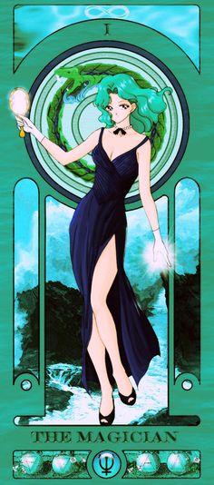 Sailor Moon Tarot Deck http://geekxgirls.com/article.php?ID=6895