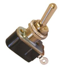 Whitworths Marine: Chrome Brass Toggle Switch