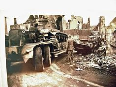 Panzer IV on tank transporter