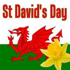St. David's Day, March 1