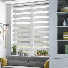 Enjoy Vision Luxe Grey Enjoy Roller Blind