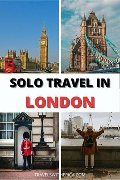 Are you planning a solo trip to London? Click through to learn my top tips and tricks on how to plan and execute an amazing solo trip to London! This post helps you plan where to stay in London, what to see and do, where to eat, how to save money, and safety tips. This is the ultimate must-read guide for anybody and everybody who is planning to visit London alone. You're guaranteed to have an amazing solo trip to London if you follow the tips in this guide! via @Travels with Erica Europe Travel Tips, European Travel, Travel Guides, Travel Destinations, Travel Articles, Travel Goals, Travel Hacks, Solo Travel, Travel Usa