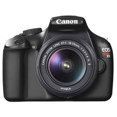 A DSLR at the price of a Point & Shoot, so it is true perhaps, Canon can do anything to stay in the game. With the launch of Nikon's great success Nikon D3100, Canon brought it Canon EOS 1100 D which makes a person wonder.