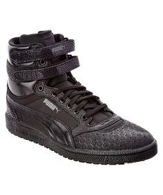 PUMA PUMA MEN S SKY II HI MONO CRACKLE SNEAKER .  puma  shoes   046cbe421
