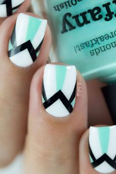 nice 45+ Cute Nail Art Ideas for Short Nails 2016 - Get On My Nail