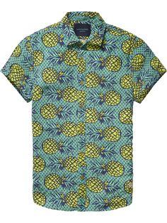 Camisa de manga corta Aloha   Camisa de manga corta   Ropa para hombre en Scotch & Soda