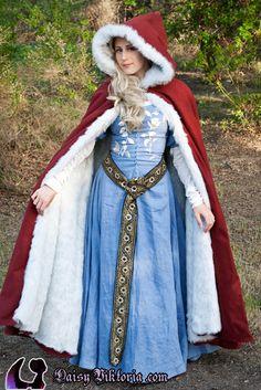 Medieval Red Riding Hood by ~DaisyViktoria on deviantART