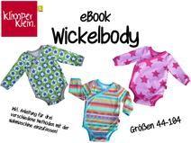EBook Wickelbody Cut and Instructions 44-104 Onesie E-book pattern