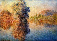 Morning+on+the+Seine+-+Claude+Monet