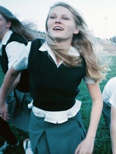 """Kirsten Dunst in """"The Virgin Suicides"""" by Sofia Coppola The Virgin Suicides, Movies Showing, Movies And Tv Shows, Private School Girl, Sofia Coppola, Film Inspiration, Film Aesthetic, School Uniform, Gossip Girl"""