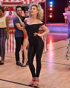 NEW Leggings BLACK silky stretch womens sz 8 Retro 80s look neon