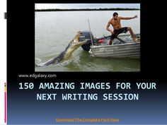 150 Amazing Writing prompts Pictures- great for bell ringer writing. Use the pictures for story writing lessons.
