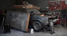 Garage Goat: 1965 Pontiac GTO - http://barnfinds.com/garage-goat-1965-pontiac-gto/