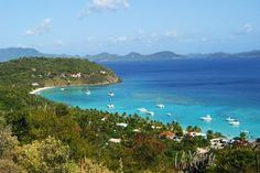 Jost Van Dyke, in the British Virgin Islands.