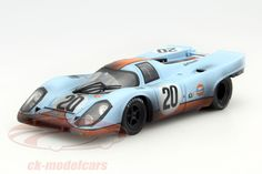 Porsche 917K Dirty Version, 24h Le Mans 1970, No.20, Joseph Siffert / Brian Redman, John Wyer Automotive Engineering Team. Norev, 1/18, Limited Edition 2000 pcs. Price (2016): 100 EUR.