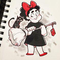 "Cassi requested ""Steven in a costume"" for #inktober day 3 so here you go! #stevenuniverse #peridot"