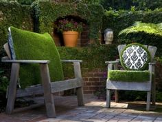 20 ideas for a successful outdoor landscaping - useful tips and photos Source by amonberni Outdoor Seating, Outdoor Spaces, Outdoor Chairs, Outdoor Living, Outdoor Decor, Outdoor Photos, Small Garden Landscape Design, Garden Design, Garden Furniture