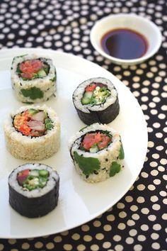 Maki Sushi 巻寿司, or SUSHI rolls