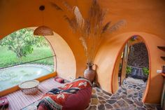 I've been wanting to share this man's tiny dome home for a long time sonow we're here. It all started in 2011 when Steve visited his friend in northeast Thailand on their mango f…