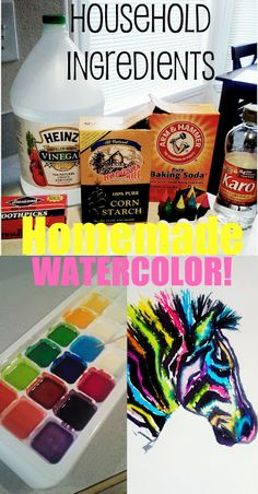 Homemade Watercolor