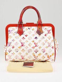 §Louis Vuitton Limited Edition Richard Prince Watercolore Aquarelle Frame Speedy Bag