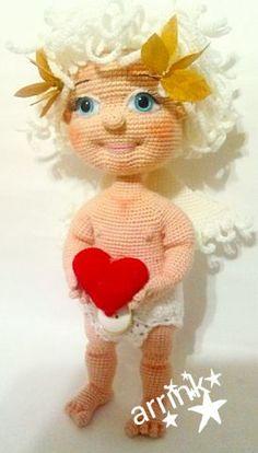 Ангелочек - МОИ ВЯЗАЛКИ - Галерея - Форум почитателей амигуруми (вязаной игрушки)